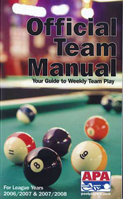 APA Official Team Rules Manual