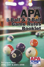 APA 8-Ball & 9-Ball Game Rules Booklet